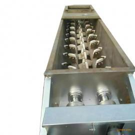 粉尘加湿机处理量大 双轴加湿搅拌机 效率高 搅拌均匀