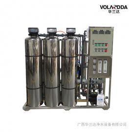 纯净水饮料生产设备 华兰达1吨/小时全自动控制反渗透设备