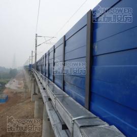 桥梁插板式金属隔声屏障是什么材料