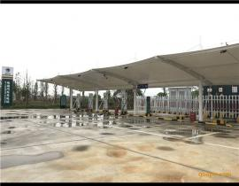 凯里膜结构充电桩遮雨棚/凯里汽车停车棚/凯里充电桩雨棚厂家