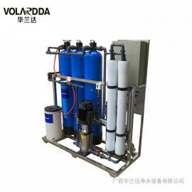 华兰达小型海水淡化设备 苦咸水过滤 玻璃钢