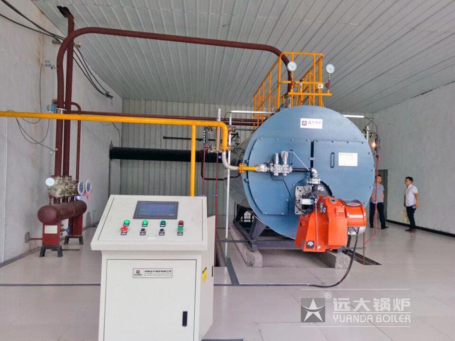 全自动燃气蒸汽锅炉 WNS1-1.25