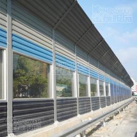镀锌板隔音墙 金属材质隔音墙使用效果