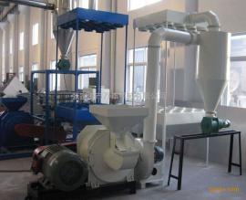 塑料管材磨粉机,PVC管磨粉机,塑料磨粉机,磨盘式磨粉机