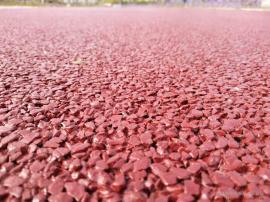 谨穆彩色透水地坪胶凝剂材料销售与现场施工