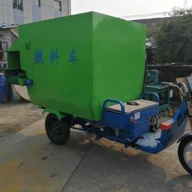 中小型饲料撒料车生产厂家 圣泰牌多功能电动撒料车型号