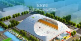 冰球气膜馆公司,供应充气膜工程,气膜体育馆-博德维