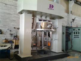 500L强力分散机 酸性透明玻璃胶分散机 酸性透明玻璃胶生产设备