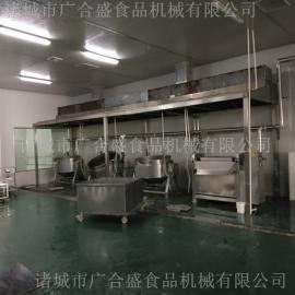 豆干卤煮生产线-不锈钢卤煮设备厂家