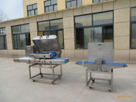 豆腐全自动切片切条设备-豆腐全自动切片切条生产线