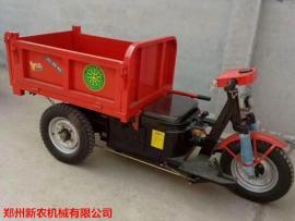 电动三轮翻斗自卸车适合各种路况