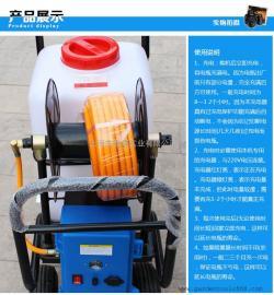 直流电轻便型电动喷雾器 60L手推式打药机电动喷雾器