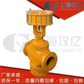不锈钢氧气快速切断阀ZSQP-40K-DN250活塞式气动切断阀