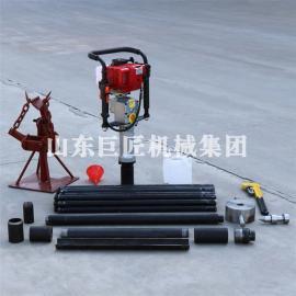 QTZ-3便携式土壤采集器 岩土勘察取土钻机 汽油冲击式取样器
