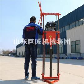 巨匠集团QZ-2B汽油机岩心取样钻机 工程勘察轻便型钻机