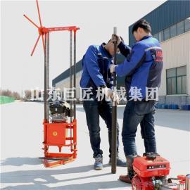 QZ-2C型汽油机轻便取样钻机 小型地质勘探钻机工程钻孔机