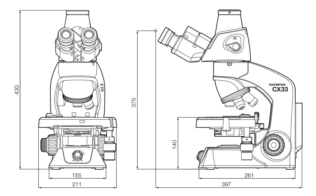 奥林巴斯olympus显微镜cx43结构图解