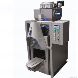 矿石粉阀口包装机,50公斤石粉分装机,粉料打包机