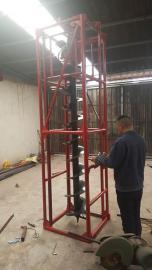 电线杆挖坑机分为人工操作便携式款和机械式拖拉机