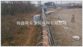 小区管道防盗设施 围墙防盗刺网设施 围墙刀片刺网