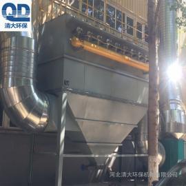 滤筒除尘器生产工艺 脉冲滤筒除尘器清大环保栏杆焊接厂用