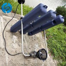 浮水式推流曝气机作用效果