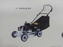 玛雅四冲程草坪机 LM196本田动力21寸手推式草坪修剪机 打草机