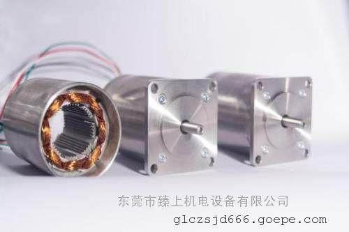 国产智造 真空高低温步进电机 (-196℃至300℃ 真空度10-7pa)