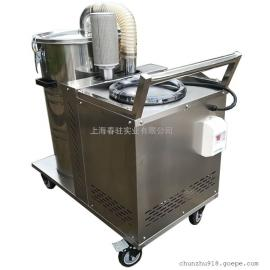380V工业吸尘器吸颗粒焊渣铁屑木屑用强力涡轮电机吸尘器厂家
