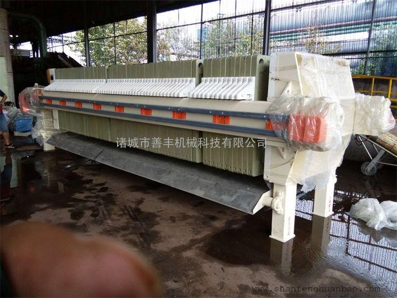 矿山制砂污泥处理板框压滤机 大型优质板框