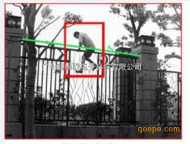 校园小区围墙区域人员闯入识别报警系统