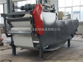 打桩泥浆污水处理设备 污泥带式压滤机