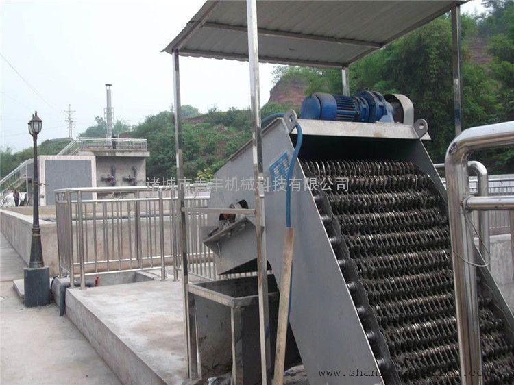 反捞式格栅除污机工作原理 自动拦渣除污设备