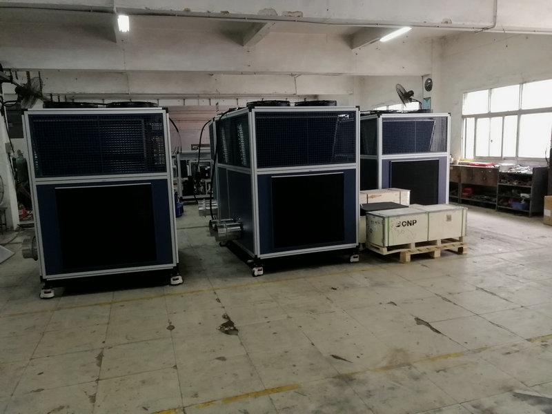 隧道挖掘机冷却系统(盾构机冷却水制冷机)