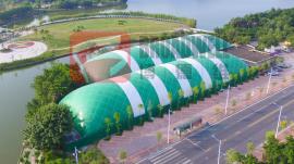 充气膜网球场,防雾霾气膜,锁定中国气膜品牌开创者博德维