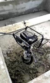 可定制长螺旋钻头的管桩掏芯机