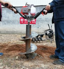 挖大深度坑洞电杆钻孔机栽杆专用