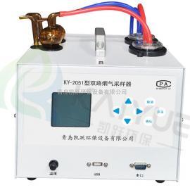 锅炉管道KY-2051双路智能烟气采样器