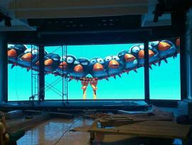 酒店室内固定安装LED舞台显示屏报价