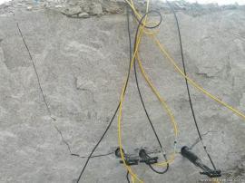 岩石劈裂机8小时产量多少吨 一天产量多少方