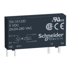 施耐德固态继电器12V电路板用继电器