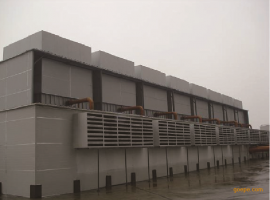 冷却塔噪声治理系统解决方案   综合噪声治理方案