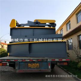 养殖废水处理高效浅层气浮机耐用浅层气浮机