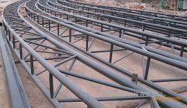 钢结构管桁架煤棚圆管相贯线切割机