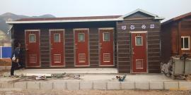 厂家供应移动厕所,旅发大会专用移动公厕,水冲厕所服务有保障