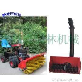 捍绿 L0152HXD-5-1D1(15HP)扫雪机 小型驾驶式扫雪车挡风罩