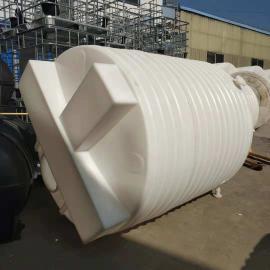 直销3立方平底加药箱 3000L混凝土添加剂化工搅拌桶pe搅拌罐