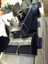 陶瓷机械专用风琴防护罩,陶瓷设备加工专用防尘罩