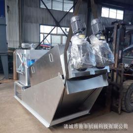 污泥脱水设备 不锈钢高效叠螺污泥脱水机