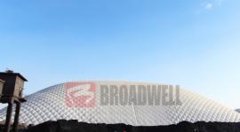 气膜煤仓-工业充气膜结构-中国气膜煤仓厂家-博德维